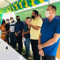 Convenção oficializa candidatura de Alberto Macedo (MDB) para prefeito e vice Tinho Martins (PSD) em Barra dos Coqueiros
