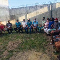 Feirantes da Barra dos Coqueiros expõem expectativas da categoria ao pré-candidato Alberto Macedo (MDB)
