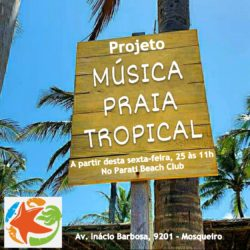 Parati Beach Club lança Projeto Música Praia Tropical
