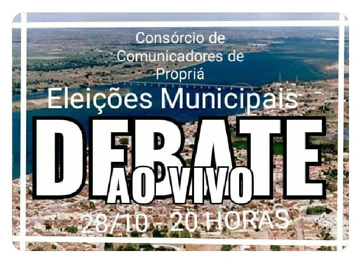 Propriá em Debate: Candidatos prefeito já foram devidamente comunicados e oficialmente convidados para reunião