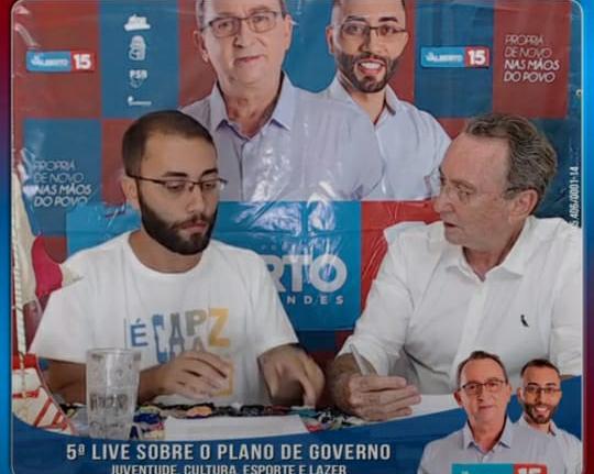 Dr Valberto e Rafael Sandes viraram fenômeno das Redes Sociais de Propriá