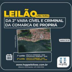 Edital de Leilão: Imóvel situado a Rua Nilo Peçanha, 90, em Propriá/SE