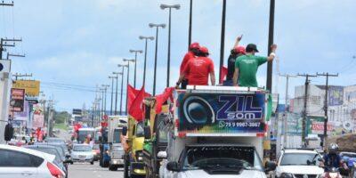 MST Sergipe celebra o DIA DO TRABALHADOR E DA TRABALHADORA RURAL em ato contra a fome
