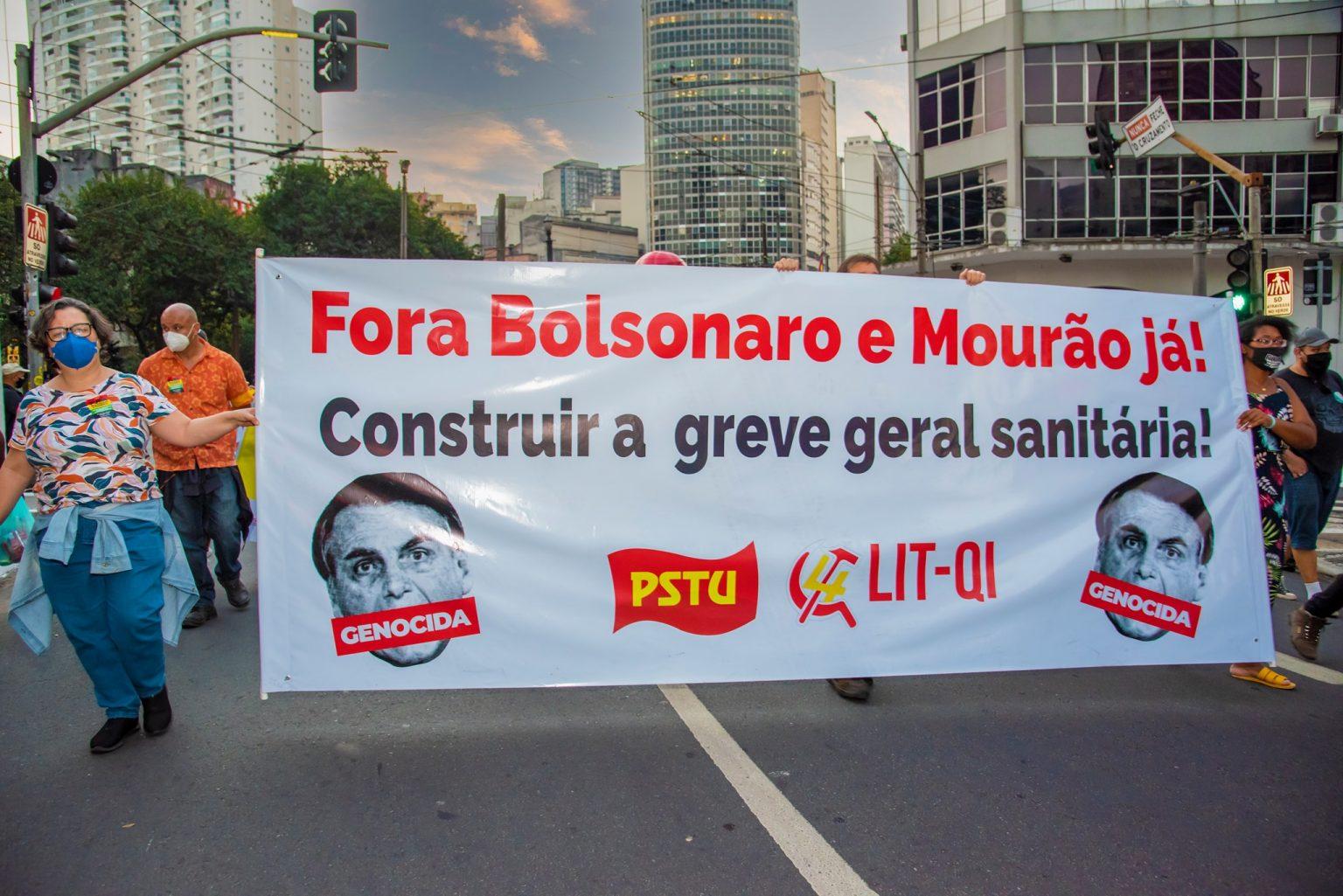Opinião Socialista: Ato unitário, greve geral, autodefesa e a alternativa dos trabalhadores