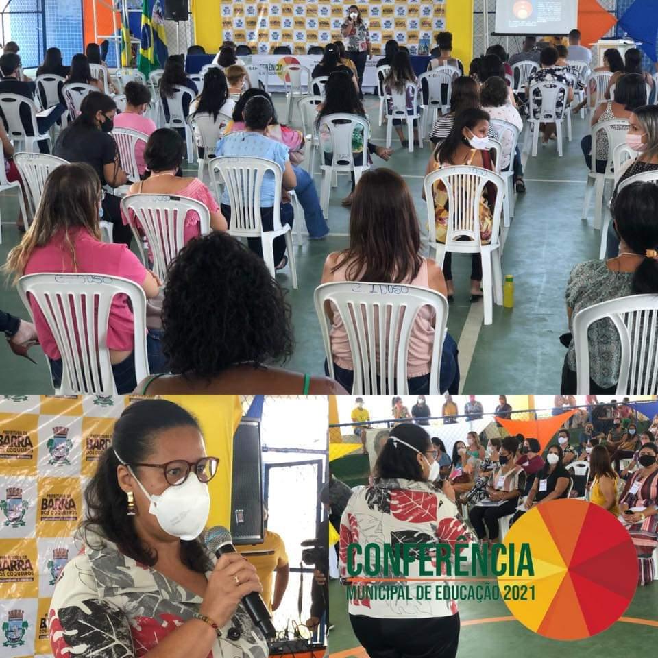1º DIA DA CONFERÊNCIA MUNICIPAL DE EDUCAÇÃO REUNIU MAIS DE 150 PESSOAS